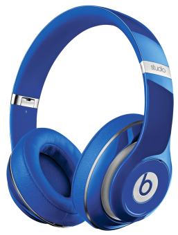 beats by dr dre studio v2 blau g nstig kaufen over ear. Black Bedroom Furniture Sets. Home Design Ideas