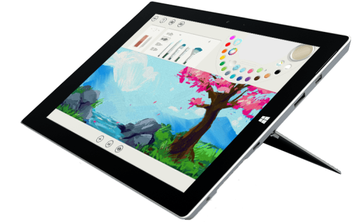 Microsoft Surface 3, x7, 128 GB