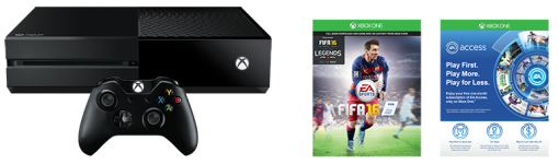 Microsoft Xbox One 500 GB FIFA 16 Bundle