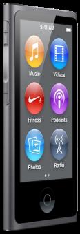 Apple iPod Nano, 16 GB, spacegrau, 7G