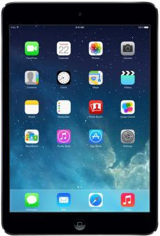 Apple iPad mini with Retina display, 32 GB, Wi-Fi + Cellular, spacegrau