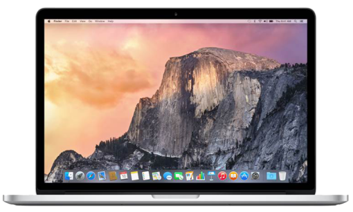 Apple MacBook Pro (Version 2015), 13.3 Retina, i5 2.7, 8GB, 128GB