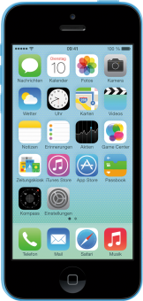 Apple iPhone 5c, 8GB, blau