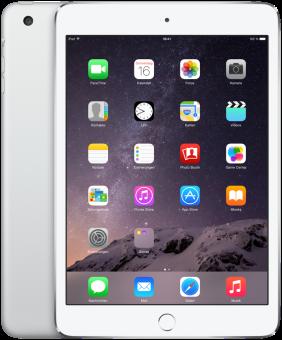 Apple iPad mini 3, 16 GB, Wi-Fi, silber
