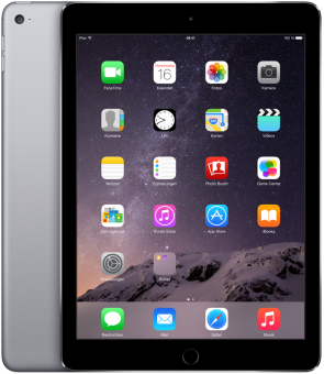Apple iPad Air 2, 64 Go, Wi-Fi, gris sidérale