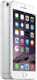 Apple iPhone 6 Plus, 64GB, silber