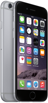 Apple iPhone 6, 16GB, spacegrau