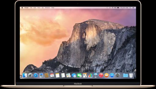 Apple MacBook, 12, 8GB, 512GB SSD, gold