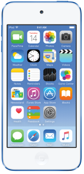 Apple iPod Touch 6G, 64GB, blau