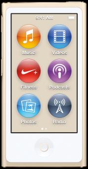 Apple iPod Nano 8G, 16 Go, or