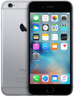 Apple iPhone 6s, 16GB, Space grau