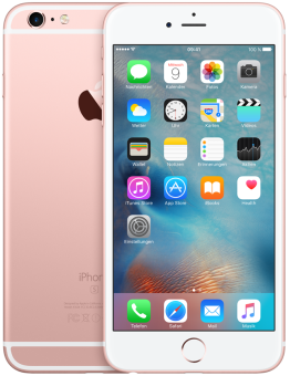 Apple iPhone 6s Plus, 64GB, rosegold