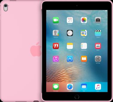 Apple iPad Pro 9.7 Silicon Case, rose clair
