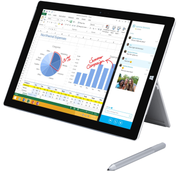 Microsoft Surface Pro 3, i5, 256 GB, Win10
