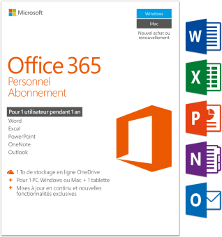 Microsoft CDR Office 365 16 Personal /F