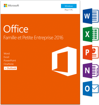 PC - Microsoft Office Home&Business 2016, 1 User /F