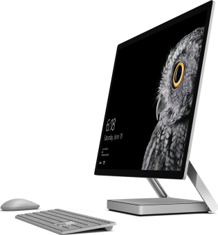 microsoft surface studio all in one pc intel core i7. Black Bedroom Furniture Sets. Home Design Ideas