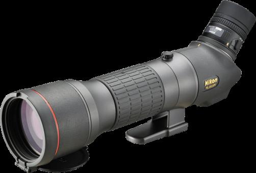 Nikon EDG 85-A - Fieldscope - Obiettivo ampio da 85 mm - Nero