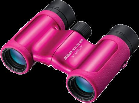 Nikon ACULON W10 8x21 - Binoculare - Ingrandimento 8x - Rosa