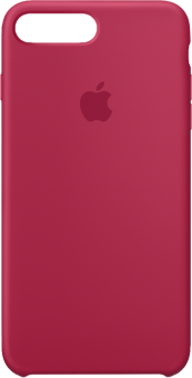 coque silicone rouge iphone 8 plus