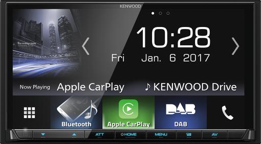 KENWOOD DMX7017DABS - Récepteur A/V - Bluetooth - Noir