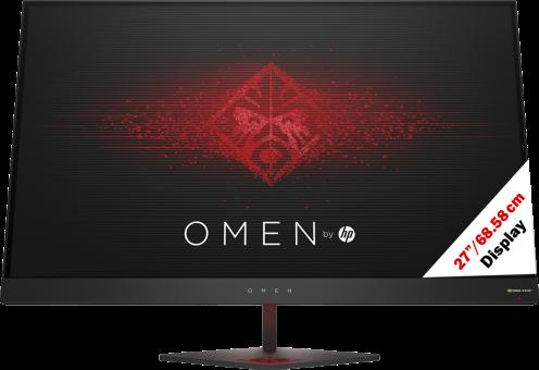 HP Omen 27 (, 2 560 x 1 440 pixels) Noir