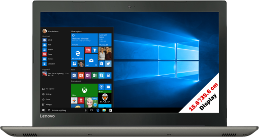 lenovo IdeaPad 520-15IKB - Ordinateur portable - Intel® Core™ i5-7200U Processeur (jusqu'à 3.1 GHz, 3 Mo Intel® Cache) - Gris