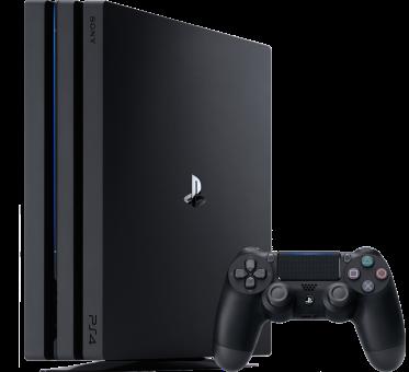 Sony PS4 Pro - Spielkonsole - 1 TB HDD - Schwarz
