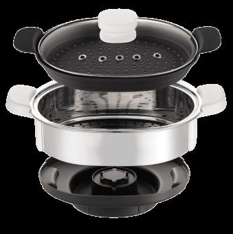 Moulinex accessoire vapeur cuisine companion acier inox - Accessoires cuisine inox ...