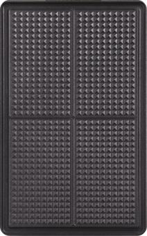 Tefal xa8005 sets de plaque snack collection gaufrettes noir accessoires appareil gaufres - Plaque tefal snack collection ...