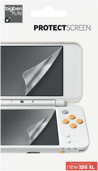 bigben Set di pellicole protettive - Per Nintendo New 2DS XL - Trasparente