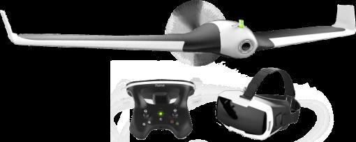 Parrot DISCO FPV - Drone - Full HD - nero/bianco