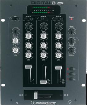 audiophony digital 3 mixer per dj compra a buon mercato shop online media markt. Black Bedroom Furniture Sets. Home Design Ideas