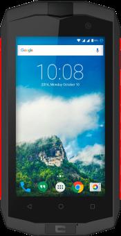 CROSSCALL TREKKER-M1 core - Android Smartphone - 16 GB Speicher - Schwarz/Rot