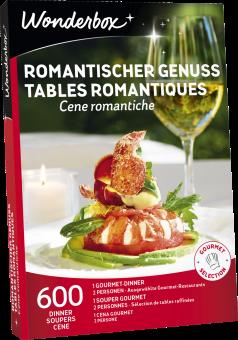 Wonderbox Tables romantiques