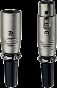 in-akustik 0083332 Premium XLR - Stecker - Silber
