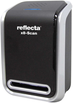 reflecta x8-Scan - Scanner - USB 2.0 - Noir/Argent