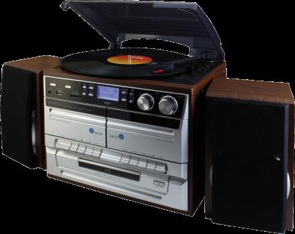 soundmaster  MCD5500DBR - Stereo-Hifi-Musikcenter - DAB+ - marrone