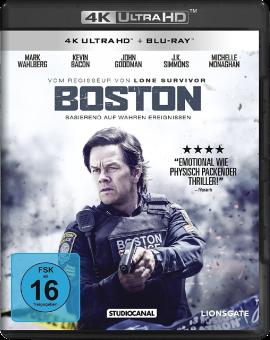 Boston (4K Ultra-HD) (+ Blu-ray) [Versione tedesca]