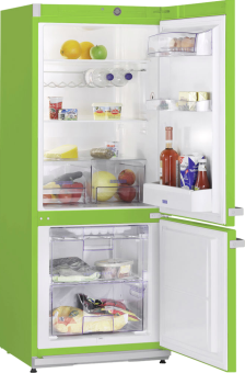 SEVERIN KS 9897 - Combiné réfrigérateur/congélateur - Capacité 227 litres - Vert