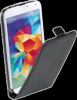 VIVANCO 35440 - Klapptasche - Für Galaxy S5 - Schwarz