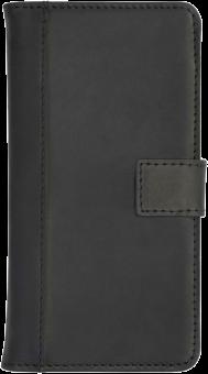 SCUTES DELUXE Universal Booklet Case, für 4.0-5.0, schwarz