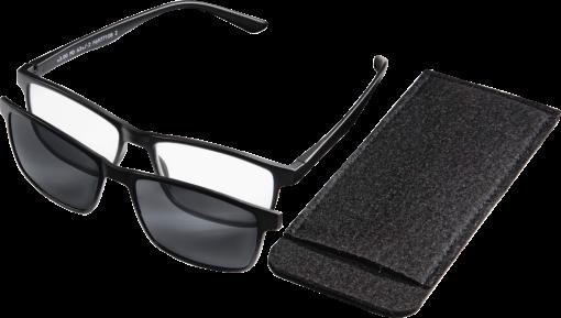 hama lunettes de lecture avec clip solaire aimant 3 dpt noir aide la lecture. Black Bedroom Furniture Sets. Home Design Ideas