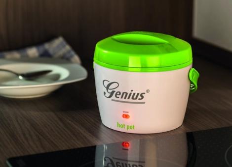 Genius Hot Pot - Chauffe-plats - 50 W - 600 ml - Vert/Blanc