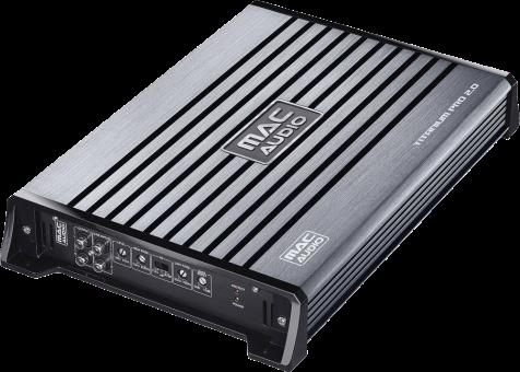 Mac Audio Titanium Pro 2.0 - HiFi Amplificateur - 2 x 375 W/1 x 1000 W - Anthracite