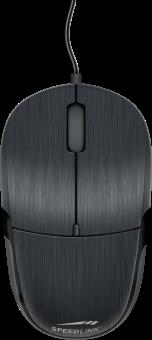 SPEEDLINK Jixster - Maus - 1000 dpi - Schwarz