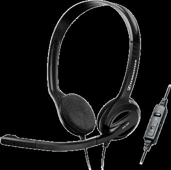 SENNHEISER PC 36 - Micro-casque On-Ear - Avec Call Control - Noir