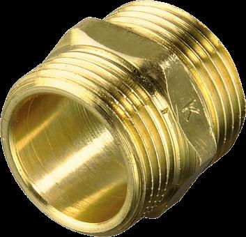 xavax 111095 - Zulaufschlauchverbinder aus Messing
