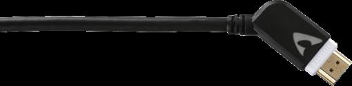 Avinity 127010 Cable Hdmi M/M 1.5M ANG HS Câble Hdmi (Gris)