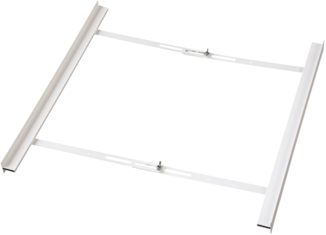 xavax zwischenbaurahmen offene front f r waschmaschine und trockner 55 68 cm weiss. Black Bedroom Furniture Sets. Home Design Ideas